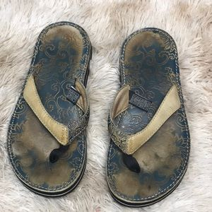 Pre-owned TEVA leather sandal size 7